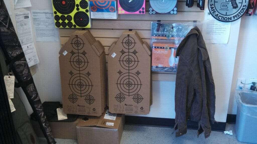 Re-Nine Shooting Targets In-Stock Hanging