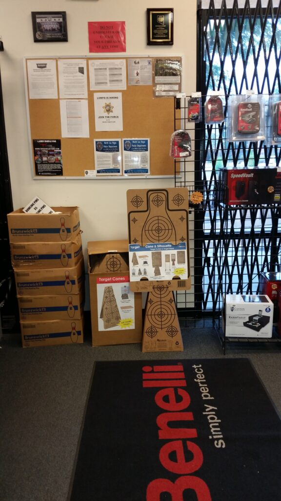 Re-Nine Shooting Targets Cardboard Target Cones In-Stock & Silhouette Targets Store Display