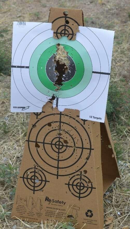 Shot Target Cone Holding Paper Target