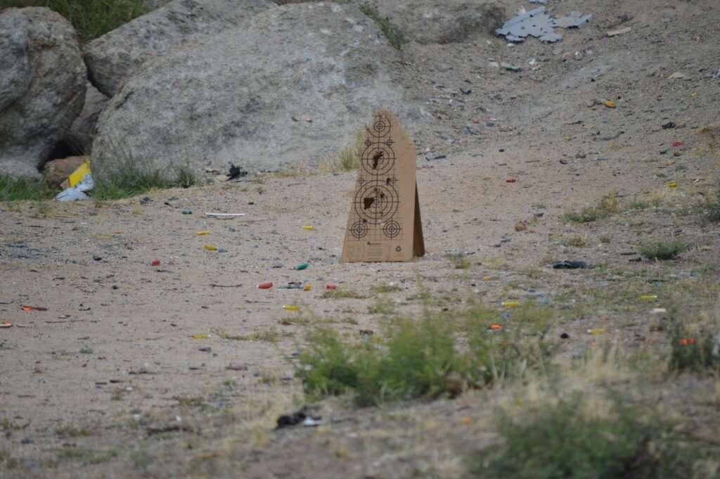 Shot Target Cone - Cardboard Target