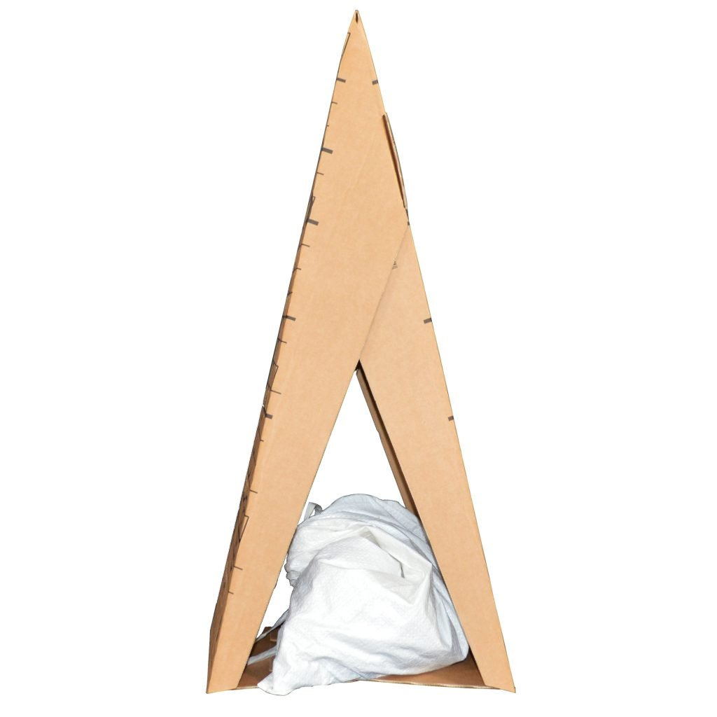 Target Cone with Sandbag for Hold Down Weight