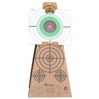 Target Cone Holding Printed Paper Target