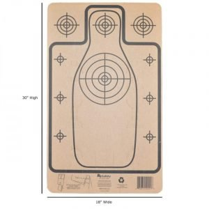 Silhouette Targets with Dimensions