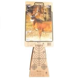 Target Cone & Silhouette Target Holding Deer Target